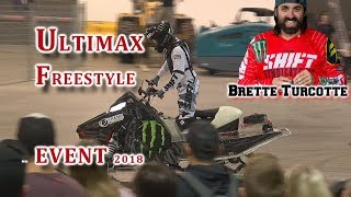 Ultimax FREESTYLE Event @ 2018 Toronto International Snowmobile SHOW:  Part 2