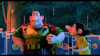 """Astérix - Le Domaine des Dieux - Extrait #1 : """"Pour éviter les gaulois il faut travailler la nuit !"""""""