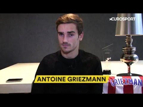 Antoine Griezmann Interview Eurosport 2016 Twitter + Ribéry + Numéro 7 + Téléphone