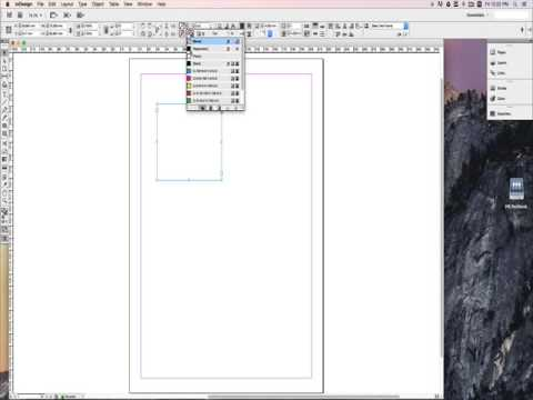InDesign for Yearbook 01 - YouTube