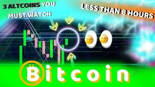 BREAKING!!! BITCOIN FAKEOUT INCOMING!?! 3 ALTS YOU MUST WATCH - UNEXPECTED MASSIVE GAINERS?