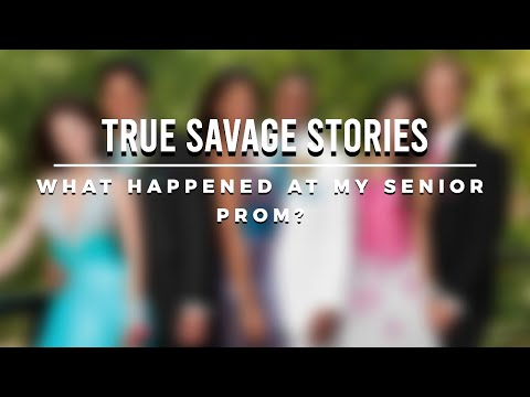 Jaxon Bryant's True Savage Stories: MY SENIOR PROM