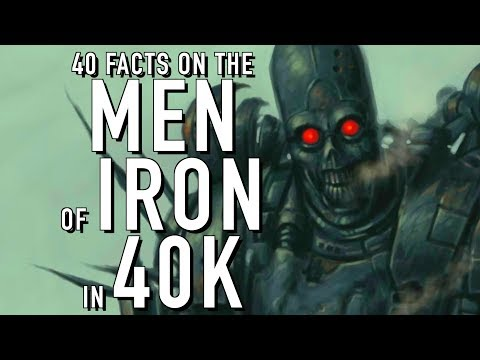 40 Facts and Lore on the Men of Iron Warhammer 40K