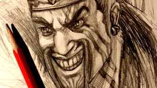 ASMR | Pencil Drawing 31 | Draven (Request)