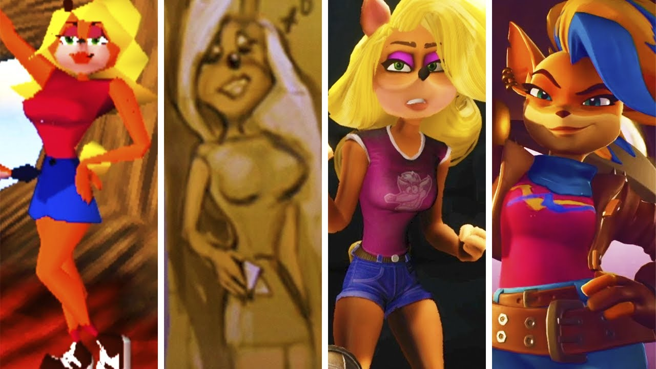 Evolution of Tawna from Crash Bandicoot (1996-2020)