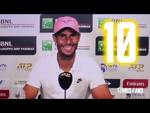 Rafa is so happy ! This title meant so much to him