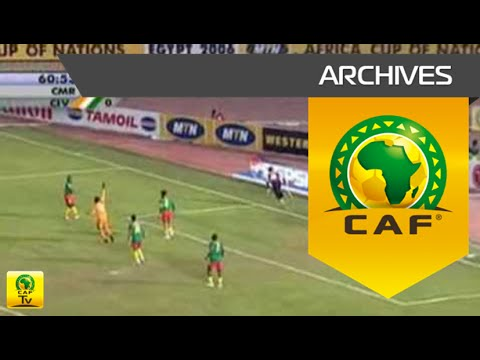 Cameroon  Côte d'Ivoire Quarter Final  Africa Cup of Nations, Egypt 2006