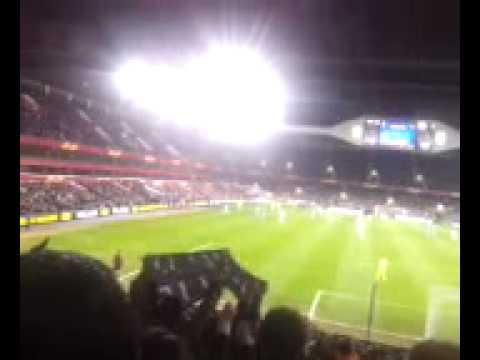 Spurs v Dnipro - 3rd goal - bedlam in #1882thfc