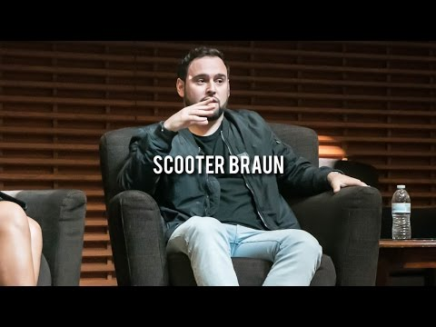 Scooter Braun Speaks At Stanford