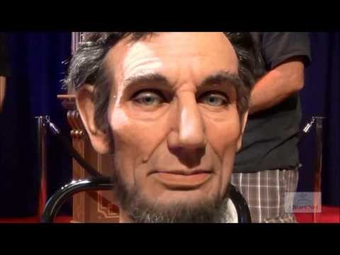 Abraham Lincoln Audio-Animatronic Facial Demonstration