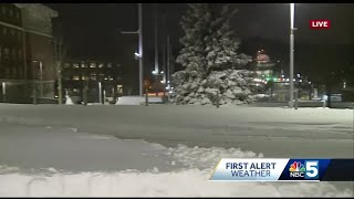 Road conditions improve Sunday night, cold is here to stay