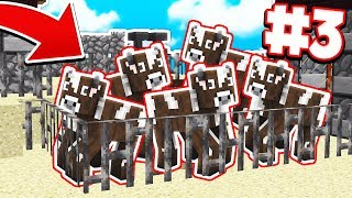 MAKING CRAZY COW FARM   Survival Island Pocket Edition #3 (MCPE/Windows 10)