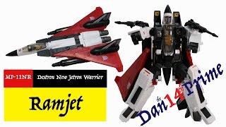Transformers Masterpiece MP-11NR Ramjet Takara Toy Destron New Jetron Warrior Toy Review