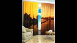 видео Лучшие шторы с 3д рисунком: фотошторы 3d от производителей