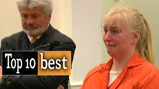 TOP 10 Best Courtroom Outbursts and Sentencing Reactions! Justice is Served