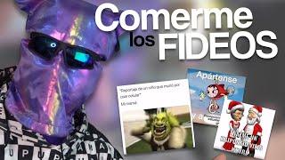DEJA COMERME LOS FIDEOS