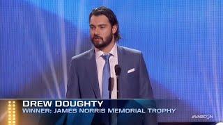 Drew Doughty Wins the 2016 Norris Trophy