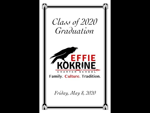 Effie Kokrine Charter School 2020 Graduation Video
