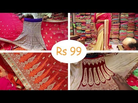 Saree Wholesale Market With Price | Banarasi sari | Lehenga Saree | Business Information