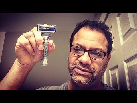 Gillette SKINGUARD — average guy tested - YouTube