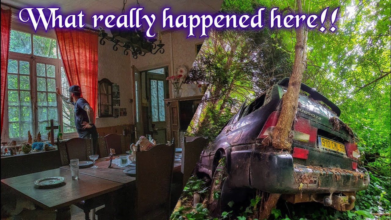 THE MYSTERY OF THE VANISHING FRENCH FAMILY... Abandoned for decades!!