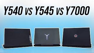 Lenovo Y540 vs Y545 vs Y7000 - Gaming Laptop Comparison