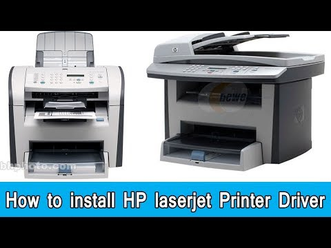 How To Install Hp Laser Jet  Printer Driver (Download)