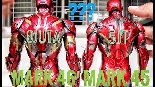 UNBOXING HOTTOYS IRONMAN MARK 45!! FENOMENA HARGA SETENGAHNYA MARK 46!!