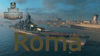 World of Warships- Roma First Impressions
