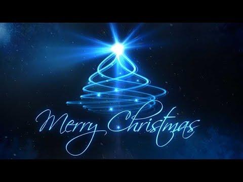 📧С Рождеством! 🎄Красивая Рождественская открытка. 🎅Merry Christmas. Футаж для видео монтажа 19.