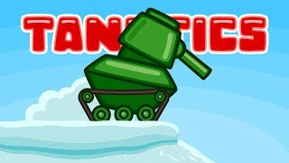 Зимняя горка | Мультики про танки | Танкости #11