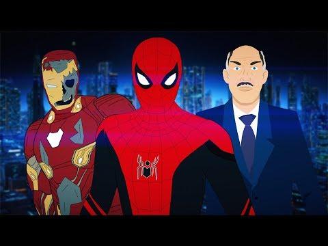 Человек-Паук: Вдали от Дома – Пародия