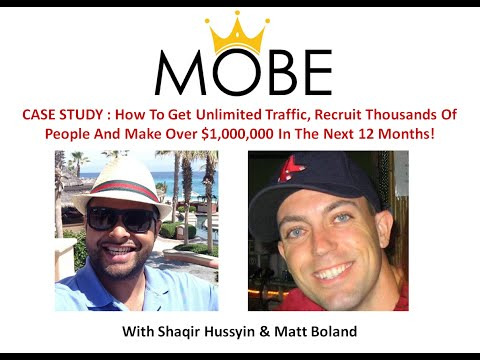 CASE STUDY: How To Get Unlimited Traffic, Recruit Thousands Of People And Make Over $1,000,000 In T
