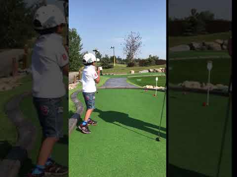 My little Tiger Woods