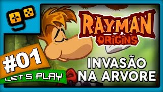 Repeat youtube video Let's Play: Rayman Origins - Parte 1 - Invasão na Árvore