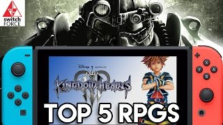 Top 5 NEW Switch RPG Games We Want Really Bad!