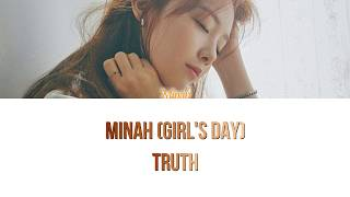 Minah (Girl's Day (걸스데이)) - Truth Han/Rom/Eng Color Coded Ly…