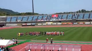 四国サッカーリーグ2015 アイゴッソ高知 vs FC今治 @高知 春野運動公園陸上競技場