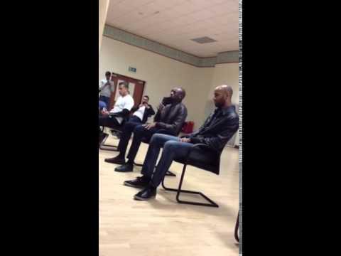 Arsenal Footballer Abou Diaby Reciting Quran Beautifully at London Muslim Centre