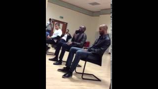 Arsenal Footballer Abou Diaby Reciting Quran Beautifully at London Muslim Centre
