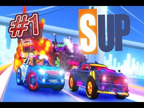 SUP Multiplayer Racing Araba Yarısı Oyunu - Alp'in Dünyası