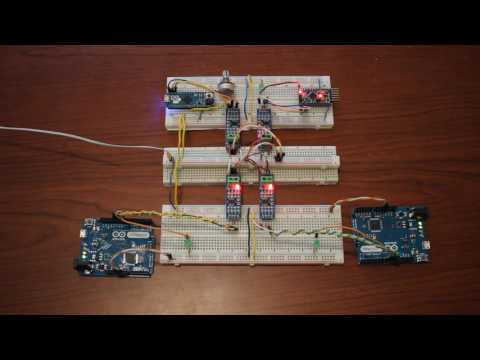 RS485 Hardware Network With Arduino - Part 1