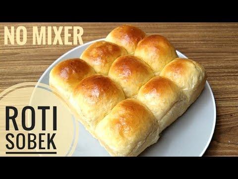 Resep Roti Sobek Roti Kasur Tanpa Mixer Youtube