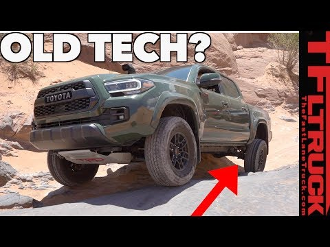 Why Does The 2020 Toyota Tacoma Still Have DRUM Brakes? We Ask The Chief Engineer To Find Out!
