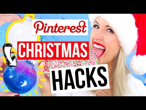 Pinterest HACKS Tested || Christmas 2016 Edition!!