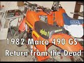 1982 Maico 490GS Return from the Dead in HD