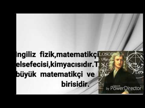 Isaac Newton Hakkinda Kisa Bilgi