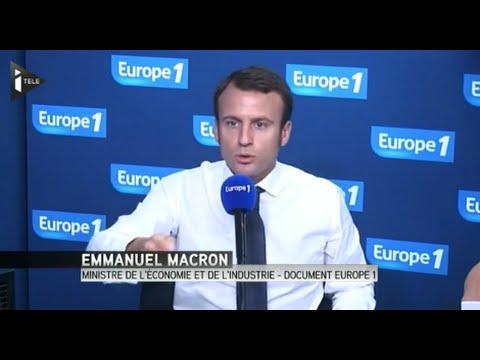 Emmanuel Macron: les