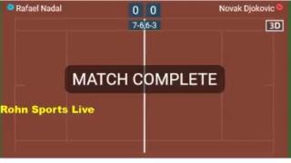 NADAL vs DJOKOVIC - Roma 2018 - Live Score