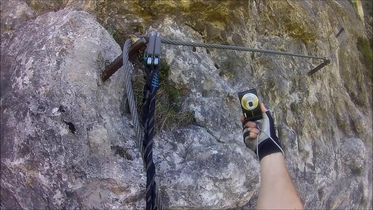 Klettersteig Ottenalm : Ottenalm bergkameraden klettersteig youtube